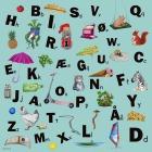 Læringsmotiv, Alfabetet (120 x 120 cm)