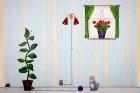 Læringsmotiv, Hus inne (180 x 120 cm)