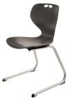 Rio Z stol, sort. Sittehøyde 26 cm