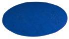 Rundt teppe, blått, Ø2,5 m.