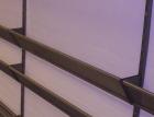 Skråhylle til innesko, (L: 80-100 cm) D: 30 cm