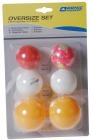 Bordtennisballer 6 stk.  Mix baller