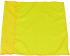 Hjørneflagg Ø50, Gul  45x45 cm