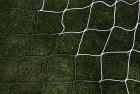 Fotballnett grønn/hvit 732x244  3 mm nylon, D:80/200