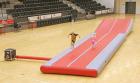 Air-Track 12x3,5x0,5 meter  inkl. vogn og pumpe