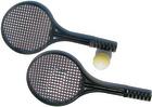 Tennisracket-plast 2 stk.  inkl. Skumtennisball
