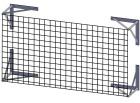 Beskyttelsesnett scoringstavle  B250 x H165cm. Inkl. beslag.