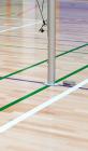 Tilpasningsstykke til kidsvolley-stolper