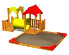 Baby lekesenter med sandkasse, standard