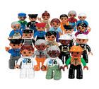 Lego Duplo rollefigurer 20 deler***