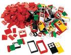 Lego Dører,vindu,takstein, 270 deler.
