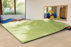 Milas lekematte 275x255x3 cm, lys grønn