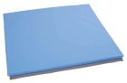Beskyttelsesmadrass for vegg, lys blå