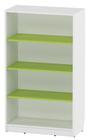 Agata maxi bokhylle m/4 grønne hyller