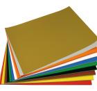 Kronekartong 300 gr 13 ass farger, 130 ark