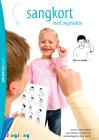 SingSang - sangkort med tegnstøtte  (A4)