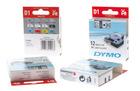 Dymo D1 tape Hvit/sort