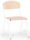 Barnestolen Adam 31 cm, hvitt understell