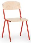 Barnestolen Adam 31cm, rødt understell