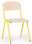 Barnestolen Adam 31cm, gult understell