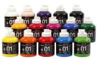 A-Color akrylmaling, 15x500 ml, ass. Farger