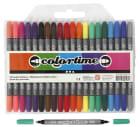 Colortime Dobbeltusj, 2,3+3,6mm strek, 20 ass.