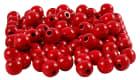 Treperler, D:8mm, hull:2mm, 15 g, rød