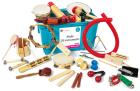Musikkinstrumenter i kasse (28stk)