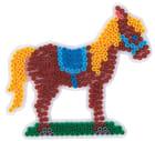 Piggplate hest