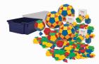 Polydron stort sett(3 basissett) i kasse m/lokk