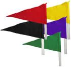 Flagg til hjørnestolpe blå