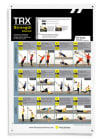 TRX Poster - Advanced strength  Øvelsesplakat