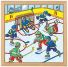 Trepuslespill, Ishockey, 64 biter
