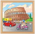 Trepuslespill, Colosseum i Roma, 81 biter