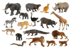 Verdens ville dyr, 18 stk