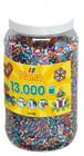 Hamaperler stripet, 13000 stk