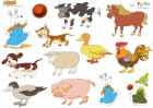 Ludde og alle dyrene, flanobilder