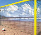 Strand fotballnett 3 mm nylon  549x211x80x80