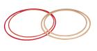 Tønnebånd i tre, Ø80 cm  Behandlet med lakk.