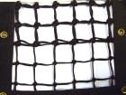 Tennisnett 'Grand Slam'- 3,2mm  L1272 x H107 cm. Sort PE