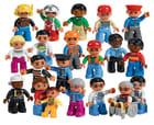 Lego Duplo rollefigurer 21 deler