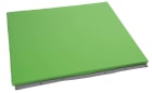 Beskyttelsesmadrass for vegg, mørk grønn
