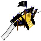 Piratksipet Fancy, vedlikeholdsfritt