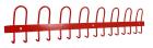 Knaggrekke, L120 cm - Rød