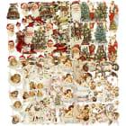 Glansbilder -ark 16,5x23,5cm, 30 ass.ark, Jul(UTSOLGT)