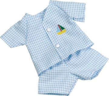 Dress, blå til dukke 34 cm