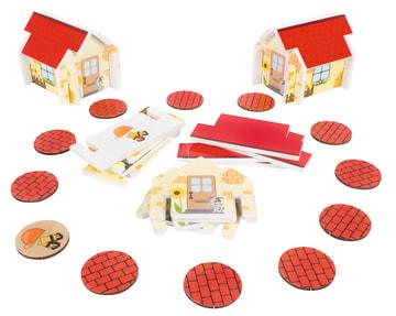 Bygge hus spill