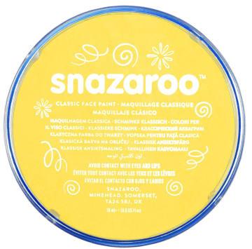 Snazaroo ansiktsmaling 18 ml. Gul