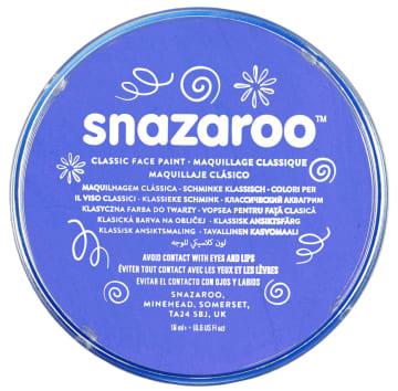 Snazaroo ansiktsmaling 18 ml. Himmelblå