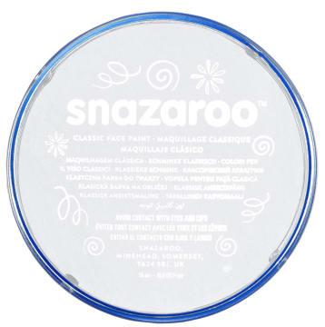 Snazaroo ansiktsmaling 18 ml. Hvit